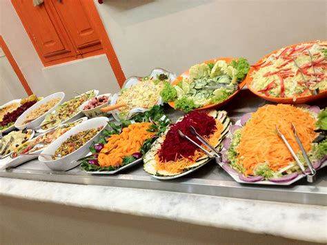 saladbar chef s table catering catering in