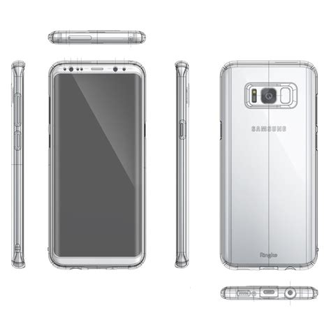 New Ringke Slim Samsung Galaxy S8 White etui ringke slim samsung galaxy s8 plus white sklep homescreen pl