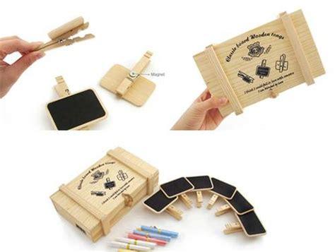 Hiasan Natal Tulisan Gantung wood clip papan tulis kotak