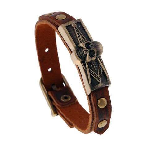 popular biker leather belt buy cheap biker leather belt