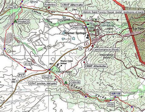 Pacific Crest Trail California Section A Washington