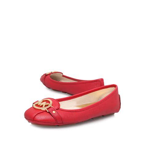 michael kor slippers michael kors fulton moccasin slip on shoes in lyst
