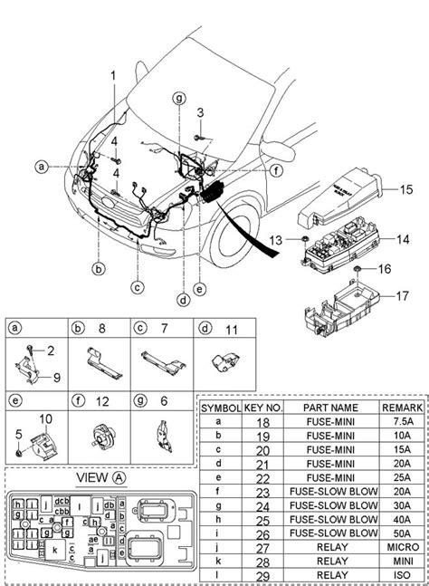 manual repair autos 2007 hyundai entourage spare parts catalogs hyundai entourage fuse box repair wiring scheme