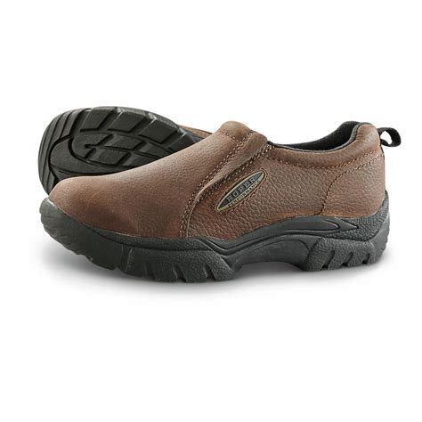shoes on s roper performance slip on shoes brown 635748