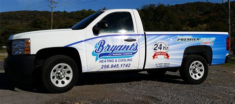 boat wraps mobile al bryant s heating cooling hvac fleet wraps accel graphics