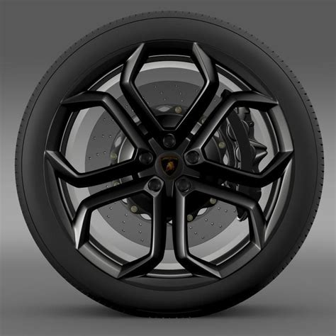 Lamborghini Lenkrad by Lamborghini Aventador Wheel 3d Model Max Obj 3ds Fbx C4d