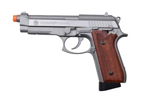 Airsoft Gun Taurus taurus pt92 metal co2 blowback pistol silver by kj works