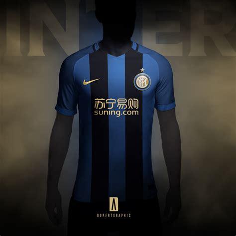 Inter Jersey nike inter milan 2018 19 concept kits footy headlines