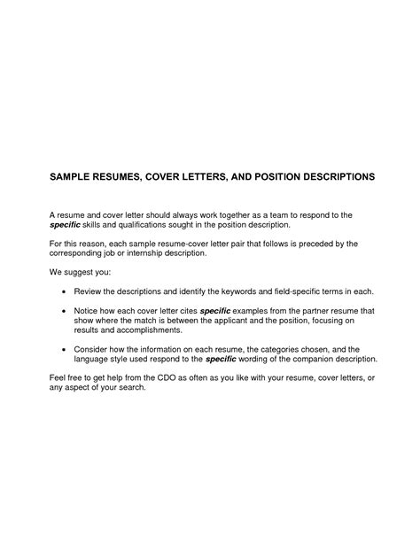 sle cover letter for an position sle of applications letter 80 cover letter exles