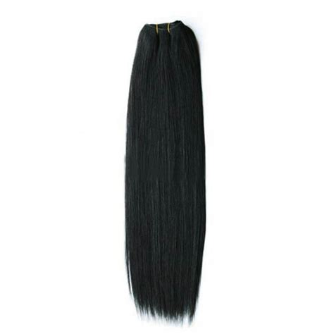 hair extensions weft remy 28 inch 1 jet black indian remy hair wefts