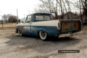 1961 ford f100 truck shortbed unibody ratrod rod custom