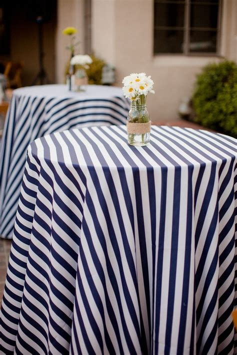 Striped Tablecloth 25 best striped table ideas on white table
