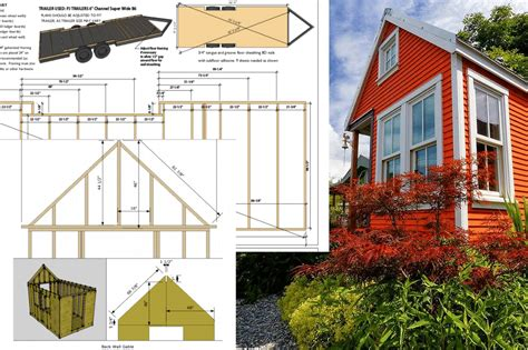 micro house plans design construire sa propre tiny house plans gratuits et