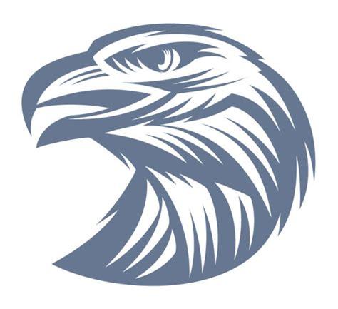 sketsa kepala elang vektor hewan vektor gratis gratis