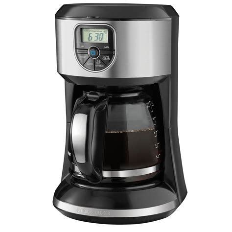 Coffee Maker Black And Decker black decker 12 cup programmable coffee maker cm4000s review
