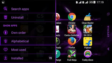 themes store app download alien purple xperien theme android apps on google play