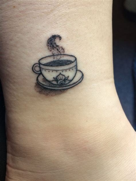 electric soul tattoo small coffee cup done by jimmy at electric soul