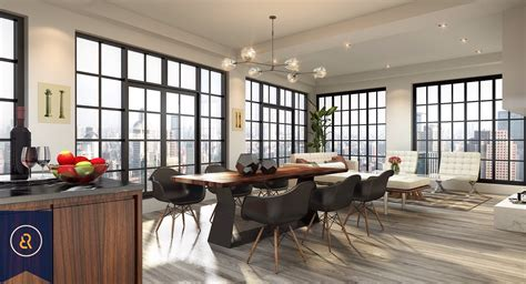 Duplex Style by New York Loft Style Three Bedroom Condo For Sale In