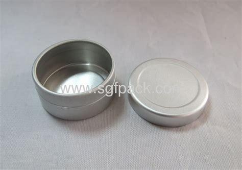 10ml aluminum cosmetic package jar aluminum tin