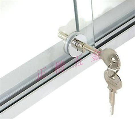 glass cabinet door lock sliding glass showcase cabinet lock mf cabinets