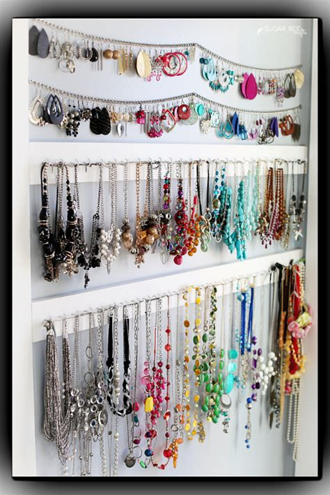 idea organizer 10 handy diy jewelry organizer ideas