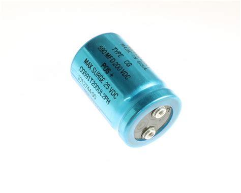large aluminum electrolytic capacitors cg591t200ul2ph mallory capacitor 590uf 200v aluminum electrolytic large can computer grade