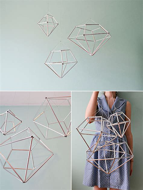 diy hanging diamond decor sugar cloth home decor diy