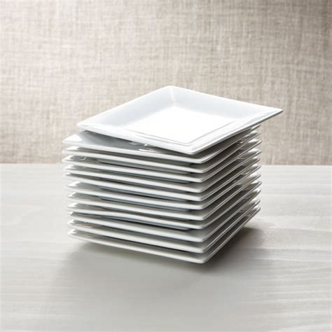 "Boxed 6"" Appetizer Plates, Set of 12   Reviews   Crate and"