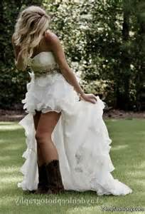 high low wedding dresses with cowboy boots 2016 2017 b2b