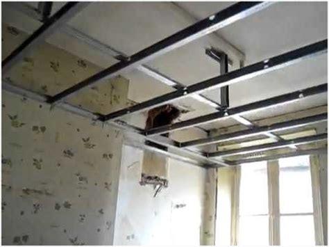Faire Un Faux Plafond En Placo 4382 by Faux Plafond Placo Sur Rail Maison Design Apsip