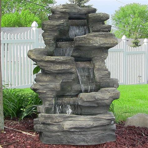 decorative outdoor water fountains ideas great home decor