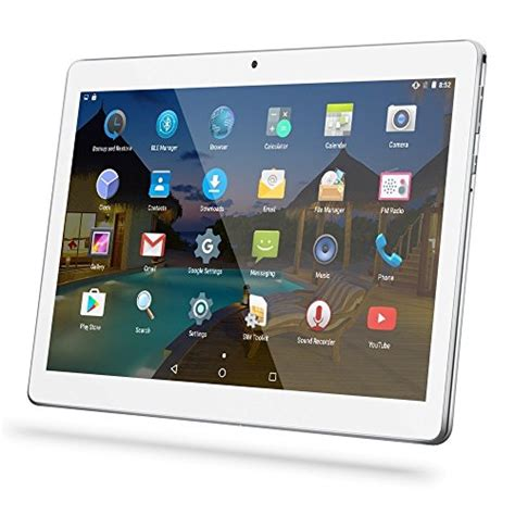 Tablet Android Sim Card android tablet 10 inch with sim card slots yellyouth 10 1 quot 4gb ram 64gb rom octa 3g