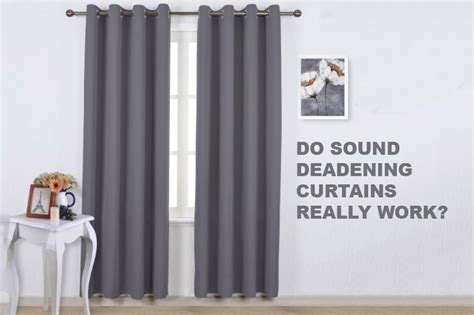 sound deadening drapes soundproof curtains do they really work soundproof expert