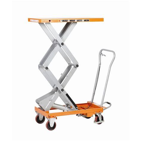 mobile lift table handling equipment