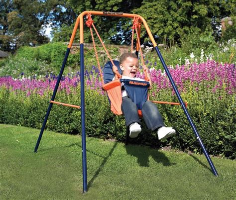 fabric swing seat hedstrom m08651 folding toddler swing easy clean fabric
