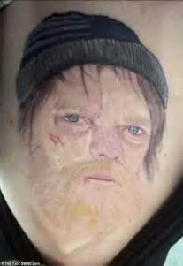 eastenders superfan gets a homeless ian beale tattooed on