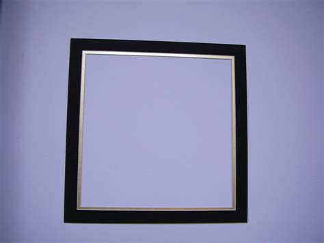 Custom Mats For Frames by Picture Frame Mat 14x14 For 11 5x11 5 Photo Black
