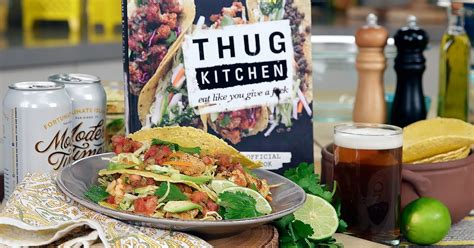 Thug Kitchen by Thug Kitchen S Vegan Cauliflower Tacos Recipe Popsugar Food