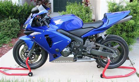 2004 cbr 600 for sale fs 2004 honda cbr 600rr blue