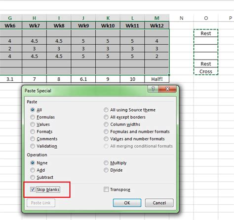 excel 2007 conditional format blank cells excel 2007 skip blank cells excel 2010 line graph ignore