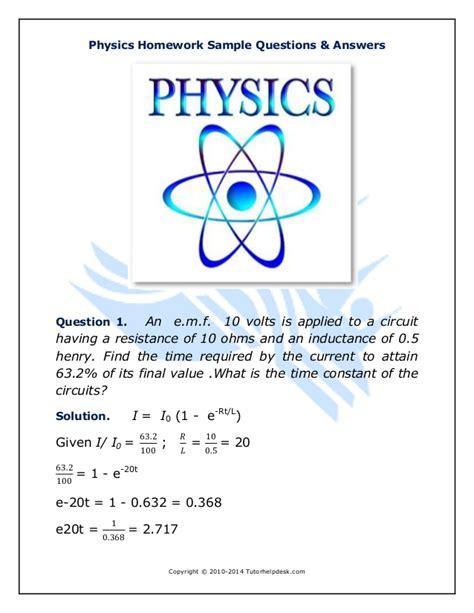 Physics Homework Help Free by Help With Algebra Homework Problems Physics