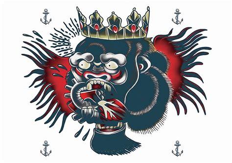conor mcgregor gorilla tattoo temporary tattoos conor mcgregor style celebrity inspired