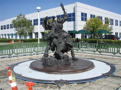 sculpture now world of the orc statue all news blizzard news