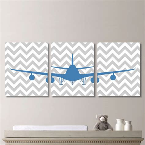 Aviation Nursery Decor Baby Boy Nursery Print Airplane Nursery Boy