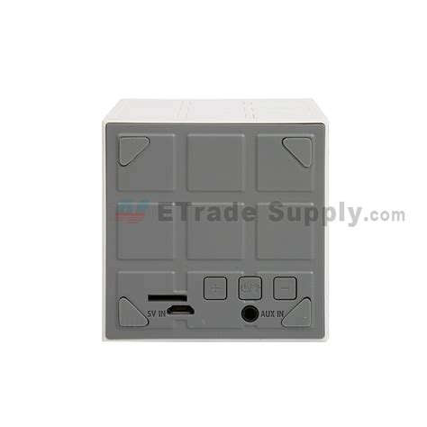 Assy Speaker Wireless Bluetooth cube wireless bluetooth speaker white etrade supply