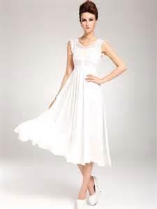 white lace and chiffon full skirt dress marilyn wk0822b