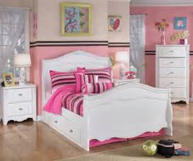girls full size bedroom sets exquisite full size sleigh bed and trundle bed ashley