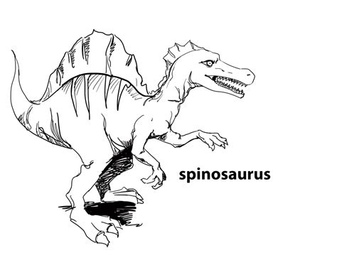 2015 spinosaurus coloring pages