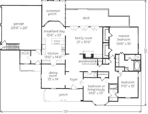 Southern Cottage Floor Plans Peachtree Cottage John Tee Architect Southern Living