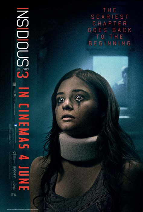 quotes film insidious 3 insidious chapter 3 poster frozen in fear